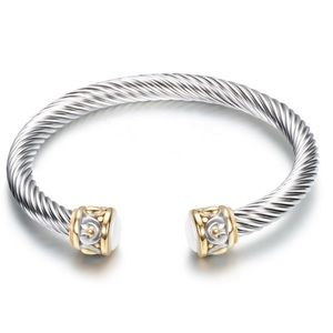 New David Yurman Sterling Silver Bangle bracelet